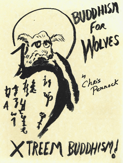 Cover of Christopher Pennock, Buddhism for Wolves