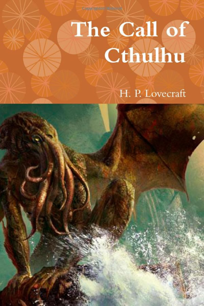 Book cover: H.P. Lovecraft, The Call of Cthulhu