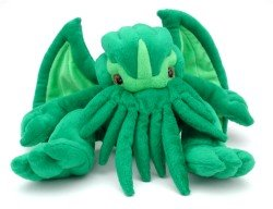 Adorable Cthulhu plush toy
